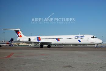 HB-IUN - Crossair McDonnell Douglas MD-83