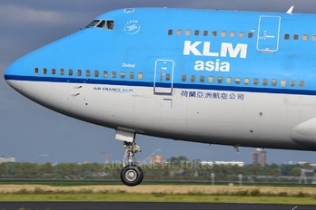 PH-BFD - KLM Asia Boeing 747-400