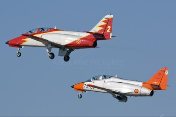 E.25-14 - Spain - Air Force : Patrulla Aguila Casa C-101EB Aviojet