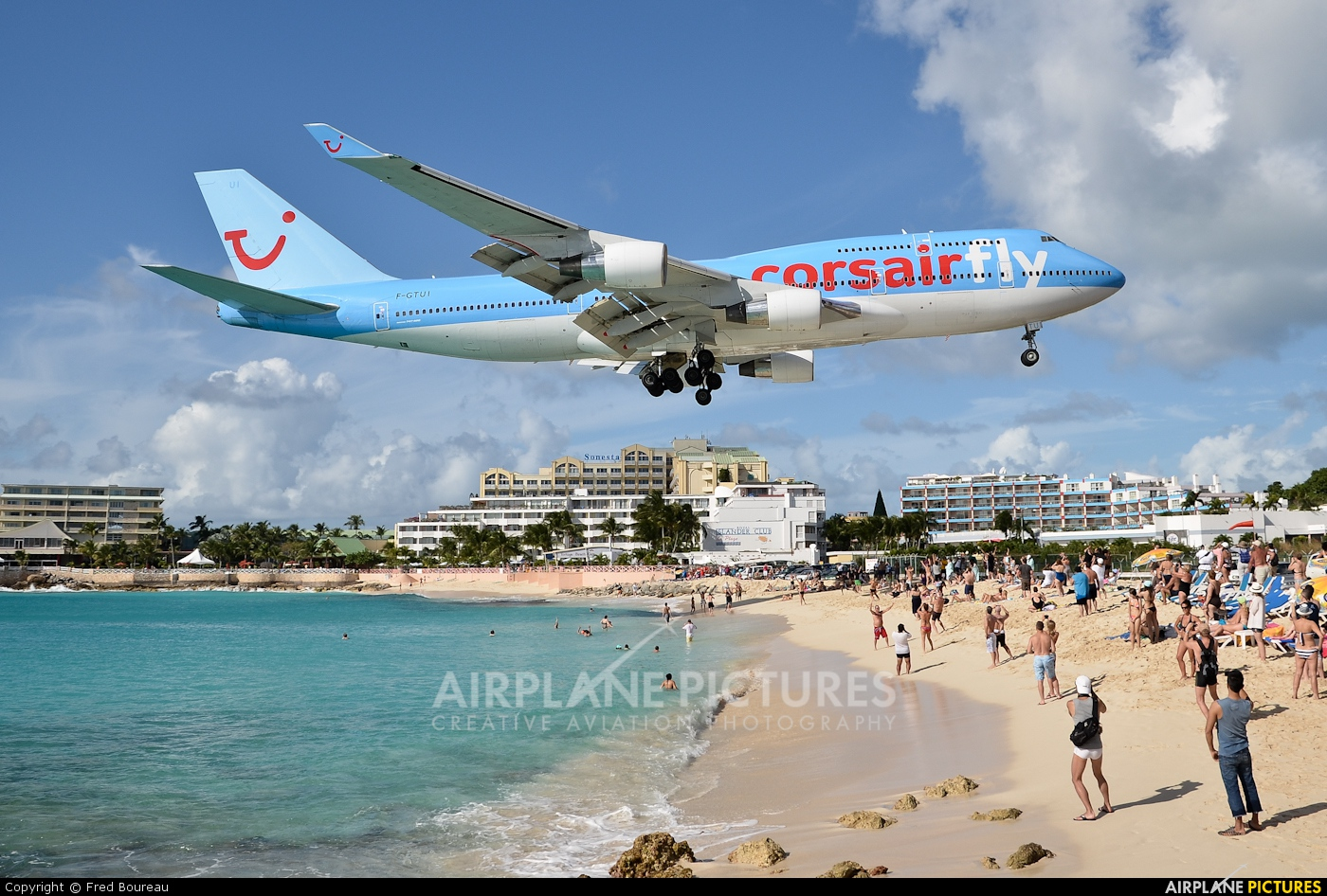 Corsair / Corsair Intl F-GTUI aircraft at Sint Maarten - Princess Juliana Intl