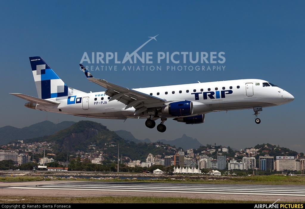 Trip Linhas Aéreas PP-PJA aircraft at Rio de Janeiro - Santos Dumont