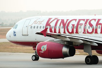 VT-KFG - Kingfisher Airlines Airbus A320