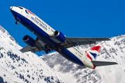 G-DOCY - British Airways Boeing 737-400 aircraft
