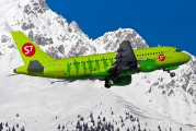 VP-BHP - S7 Airlines Airbus A319 aircraft