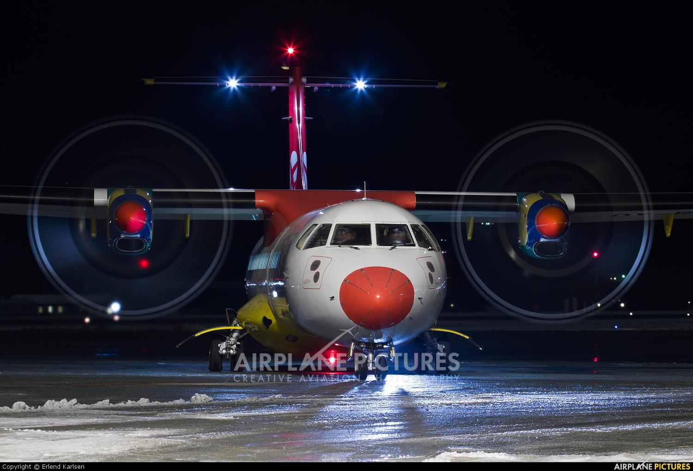 Danish Air Transport OY-RUB aircraft at Trondheim - Vaernes