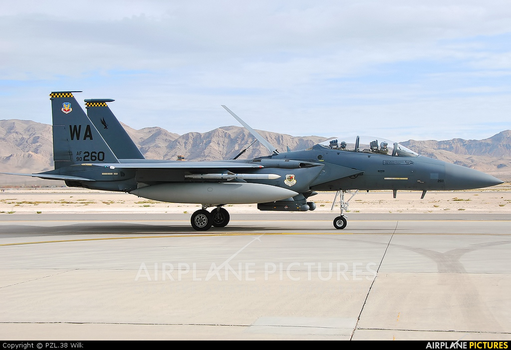 USA - Air Force 90-0260 aircraft at Nellis AFB