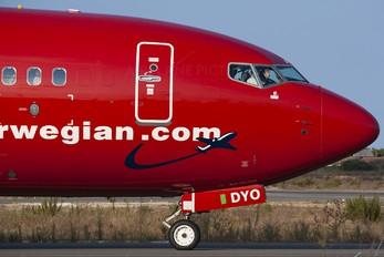 LN-DYO - Norwegian Air Shuttle Boeing 737-800