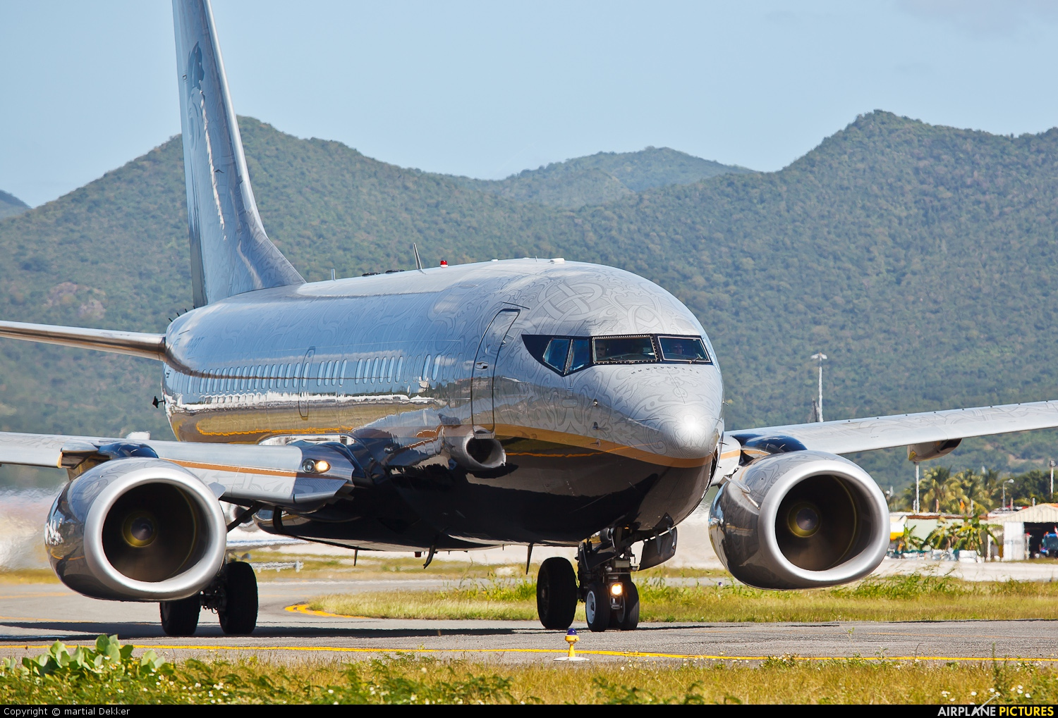 Private VP-BRT aircraft at Sint Maarten - Princess Juliana Intl