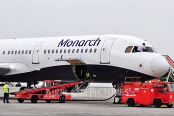 G-OZBF - Monarch Airlines Airbus A321