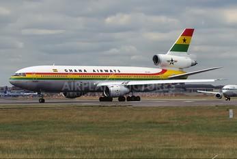 9G-ANA - Ghana Airways McDonnell Douglas DC-10-30