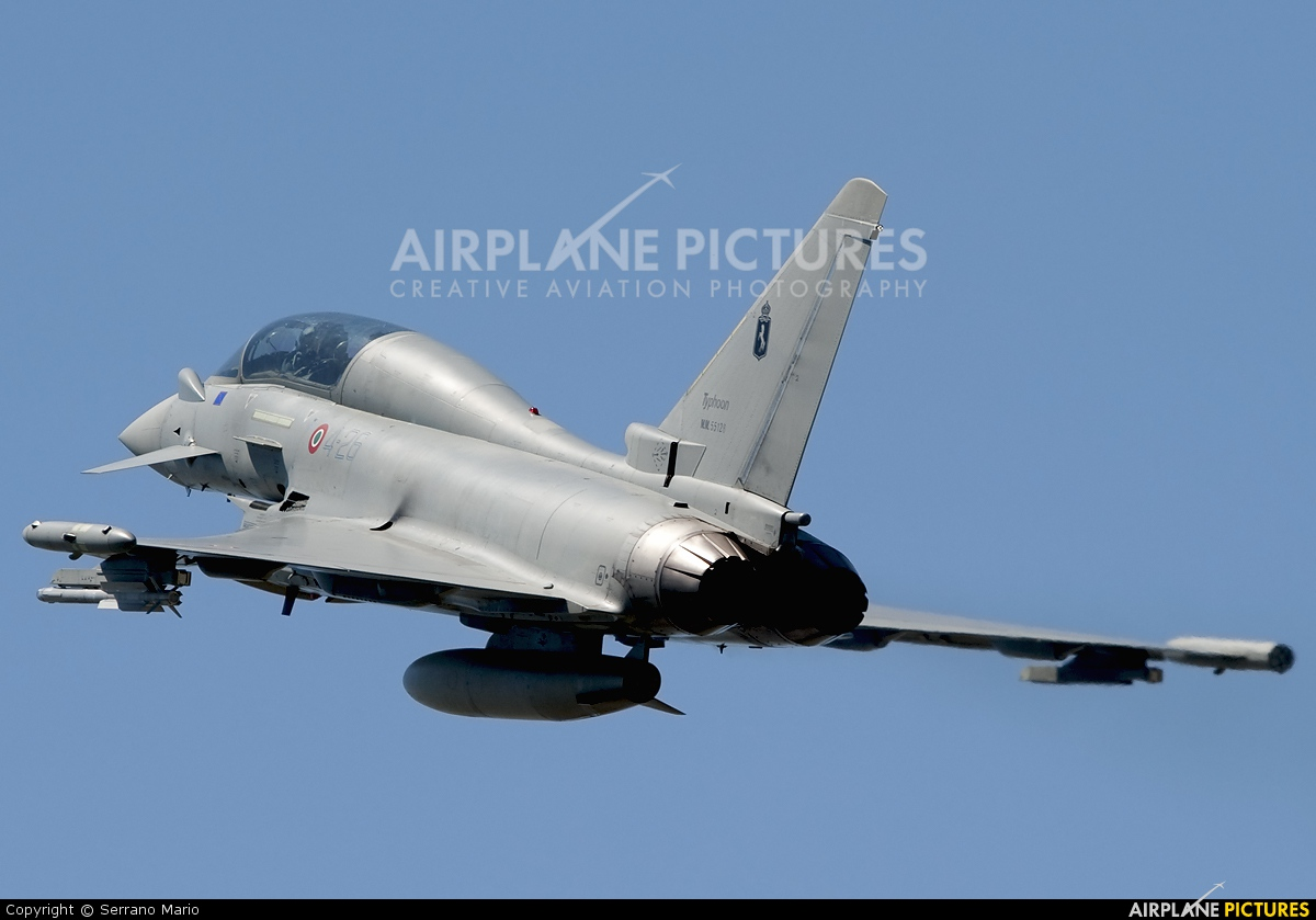 Italy - Air Force MM55128 aircraft at Grosseto - Corrado Baccarini