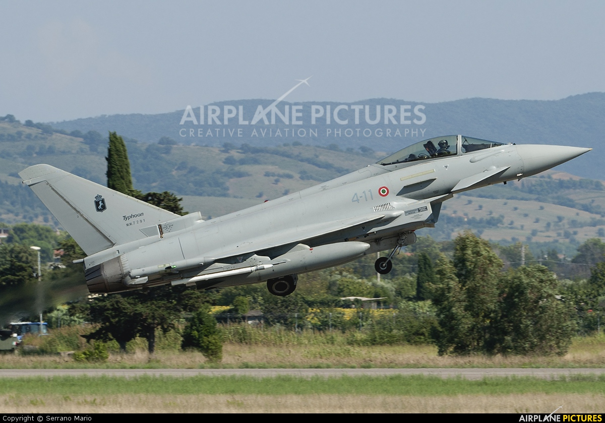 Italy - Air Force MM7291 aircraft at Grosseto - Corrado Baccarini