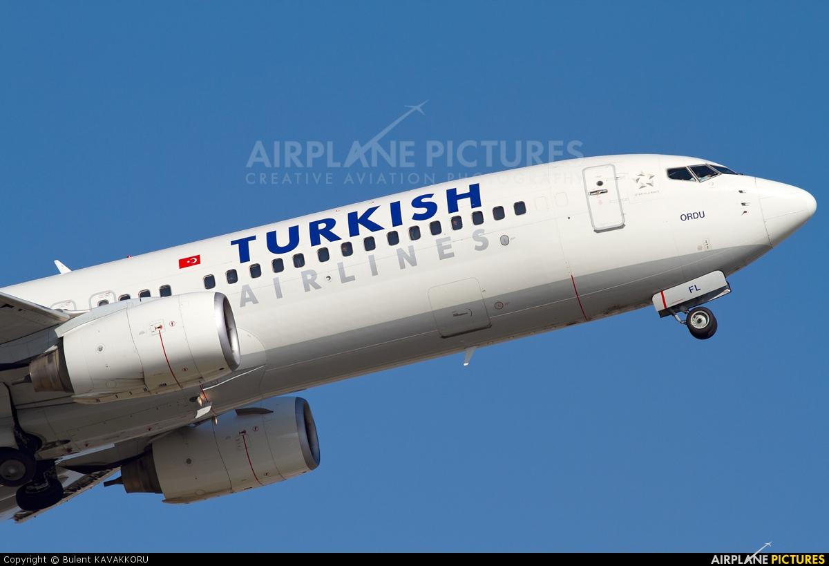 Turkish Airlines TC-JFL aircraft at Istanbul - Ataturk