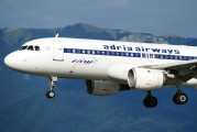 S5-AAT - Adria Airways Airbus A320 aircraft