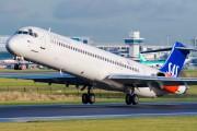 LN-RLR - SAS - Scandinavian Airlines McDonnell Douglas MD-83 aircraft