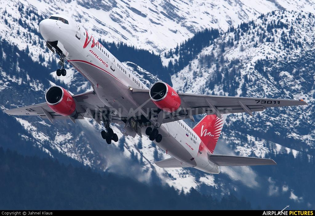 Air Bashkortostan RA-73011 aircraft at Innsbruck