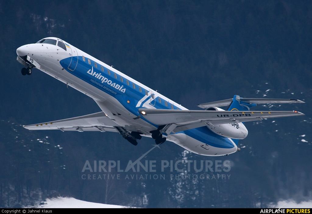 Dniproavia UR-DPB aircraft at Innsbruck