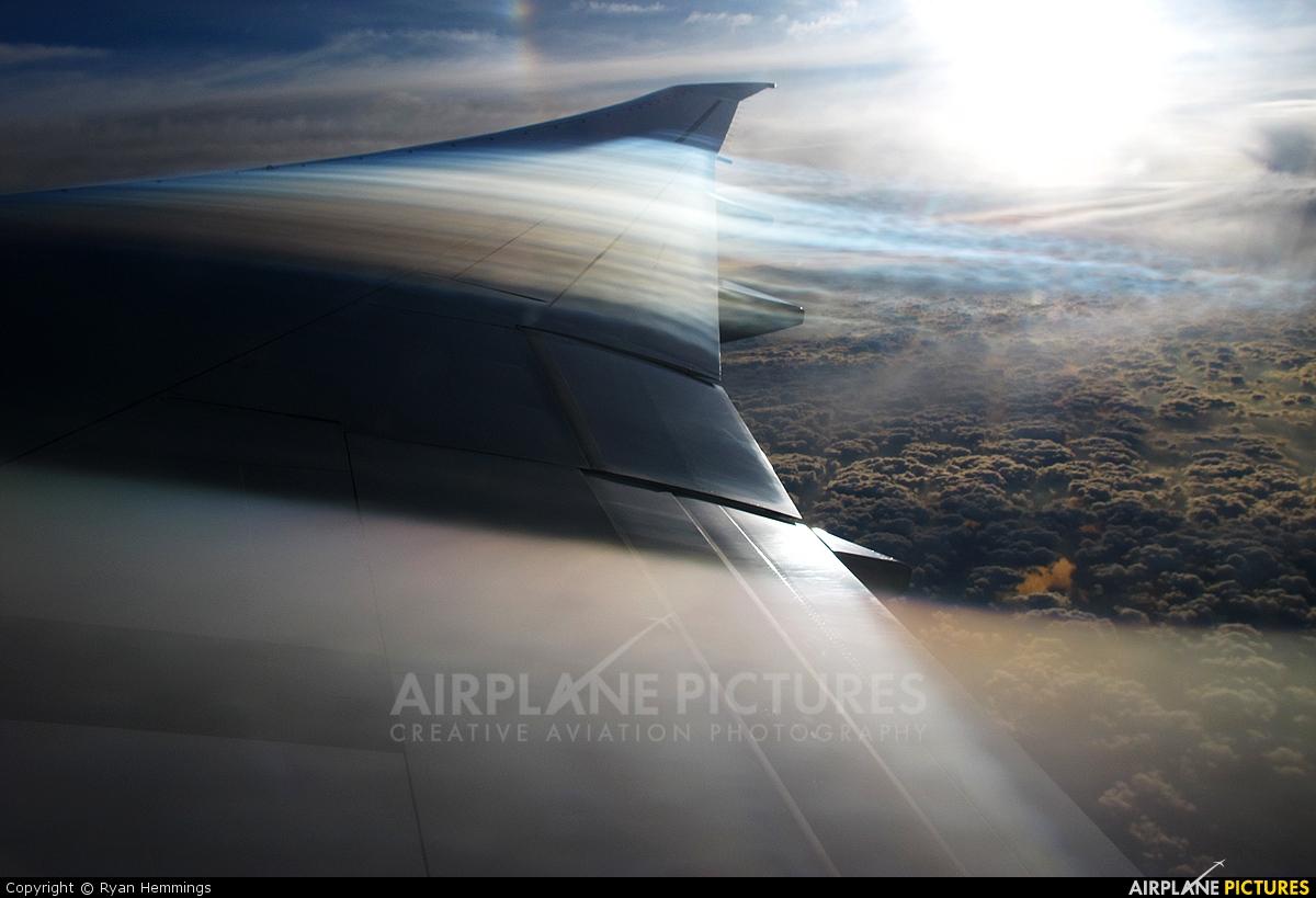 Qatar Airways A7-BAL aircraft at In Flight - England