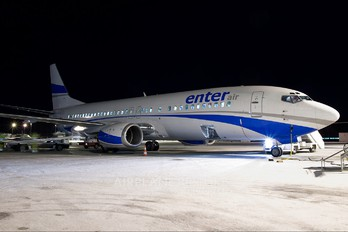 SP-ENF - Enter Air Boeing 737-400