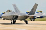 03-4053 - USA - Air Force Lockheed Martin F-22A Raptor aircraft