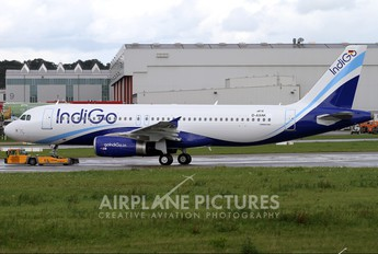 D-AXAK - IndiGo Airbus A320