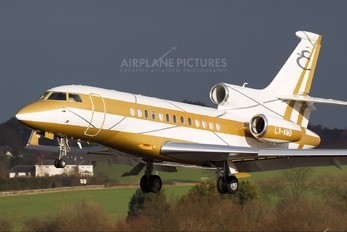 LX-AMB - Global Jet Luxembourg Dassault Falcon 7X