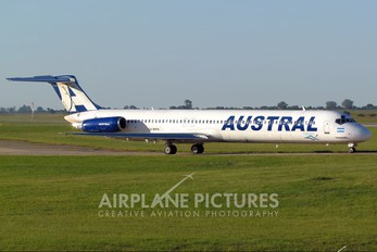LV-WFN - Austral Lineas Aereas McDonnell Douglas MD-81