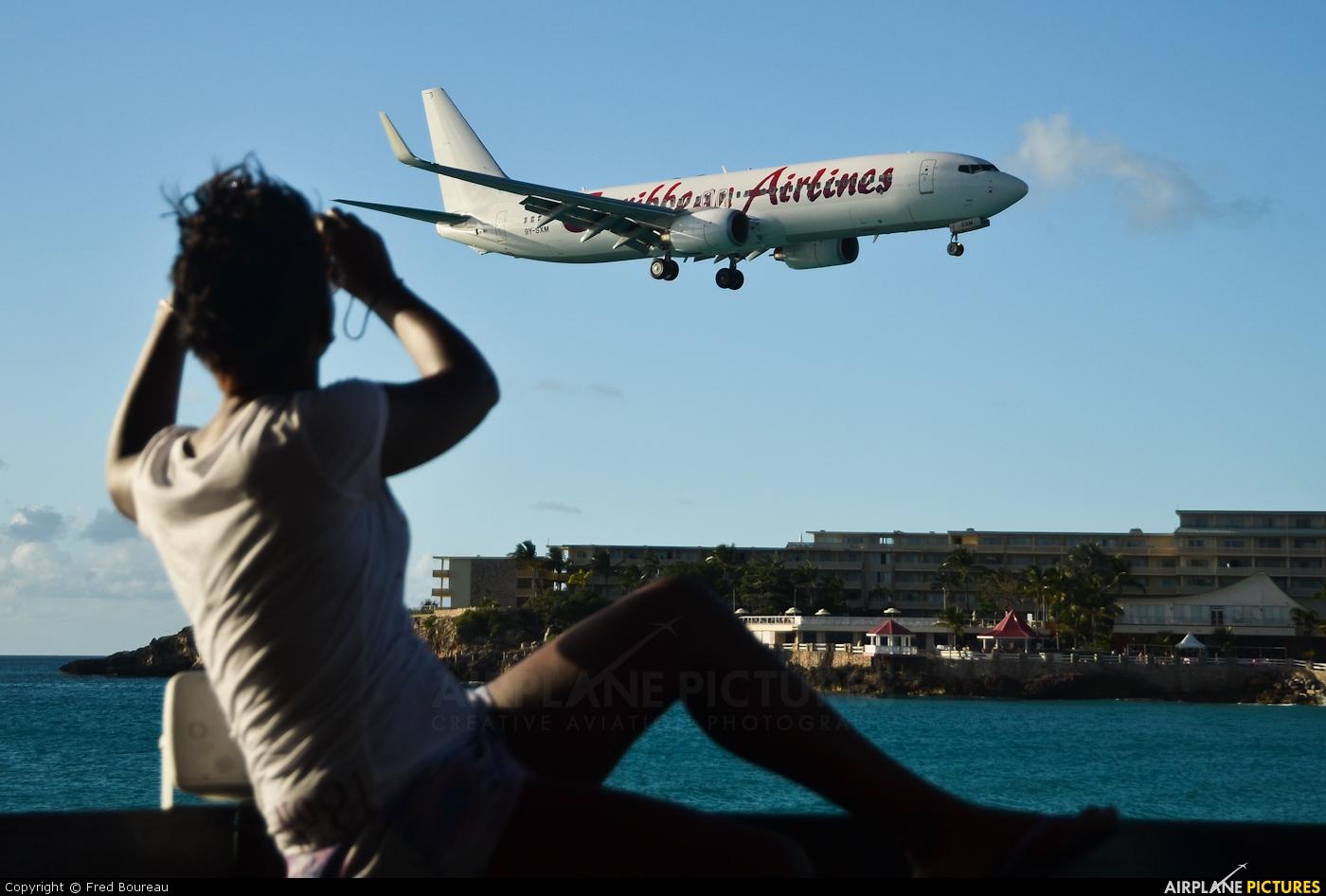 Caribbean Airlines  9Y-SXM aircraft at Sint Maarten - Princess Juliana Intl