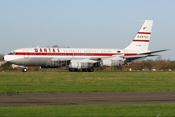 VH-XBA - Qantas Memorial Foundation Boeing 707