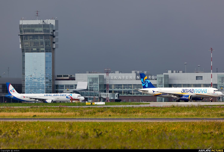 - Airport Overview - aircraft at Koltsovo - Ekaterinburg