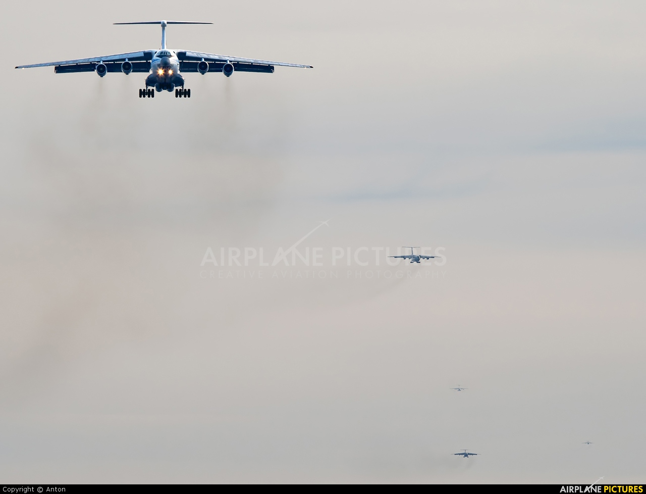 Russia - Air Force RA-76770 aircraft at Chelyabinsk Shagol