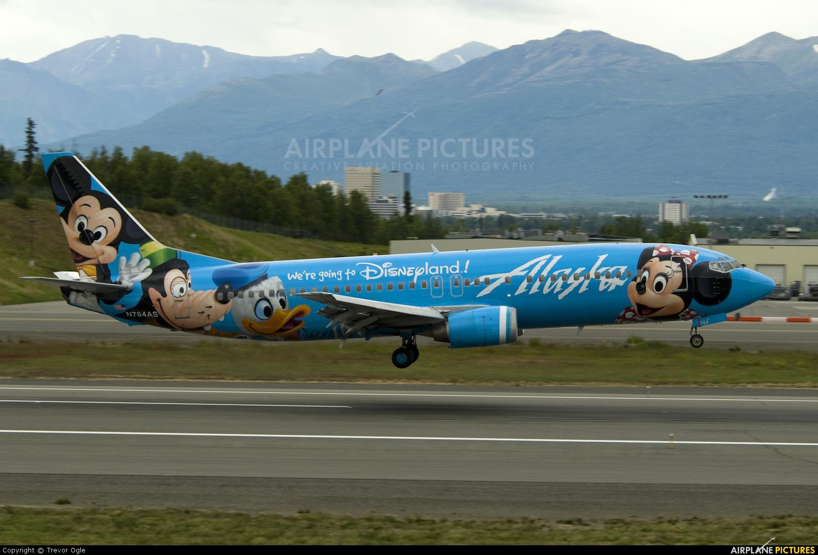 Alaska Airlines N784AS aircraft at Anchorage - Ted Stevens Intl / Kulis Air National Guard Base