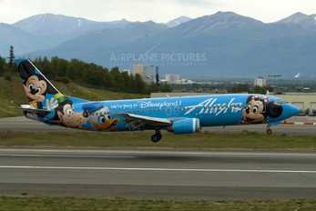N784AS - Alaska Airlines Boeing 737-400