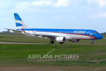 LV-CHS - Austral Lineas Aereas Embraer ERJ-190 (190-100)