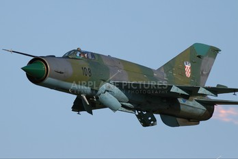108 - Croatia - Air Force Mikoyan-Gurevich MiG-21bisD