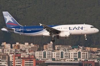 HC-CLB - LAN Ecuador Airbus A320