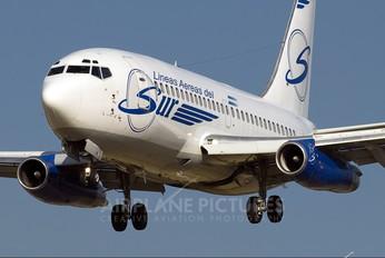 LV-ZXC - Líneas Aéreas del Sur Boeing 737-200