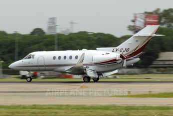LV-CJG - Private Hawker Beechcraft 800XP