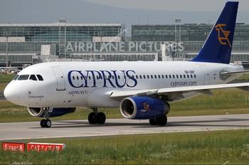 5B-DBP - Cyprus Airways Airbus A319