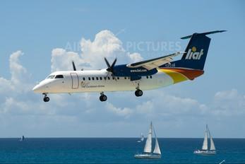 V2-LGB - LIAT de Havilland Canada DHC-8-300Q Dash 8
