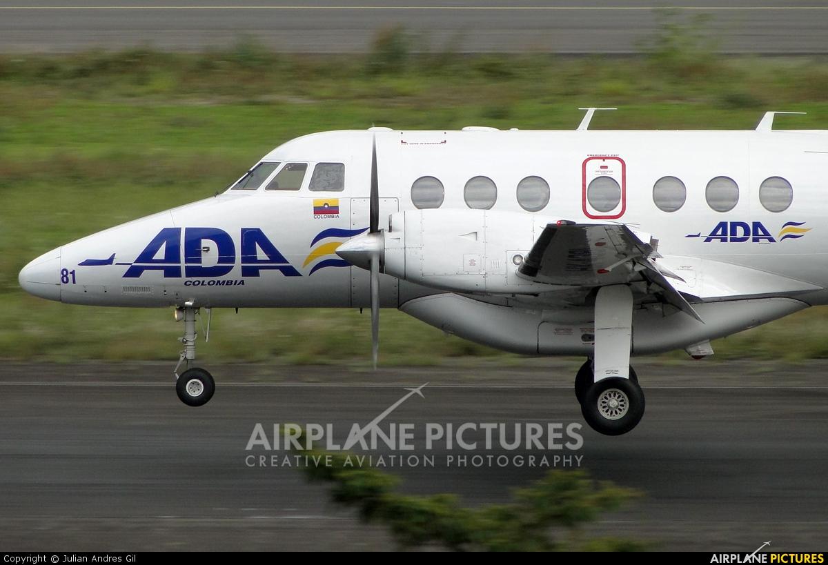 ADA Aerolinea de Antioquia HK-4381 aircraft at Medellin - Olaya Herrera