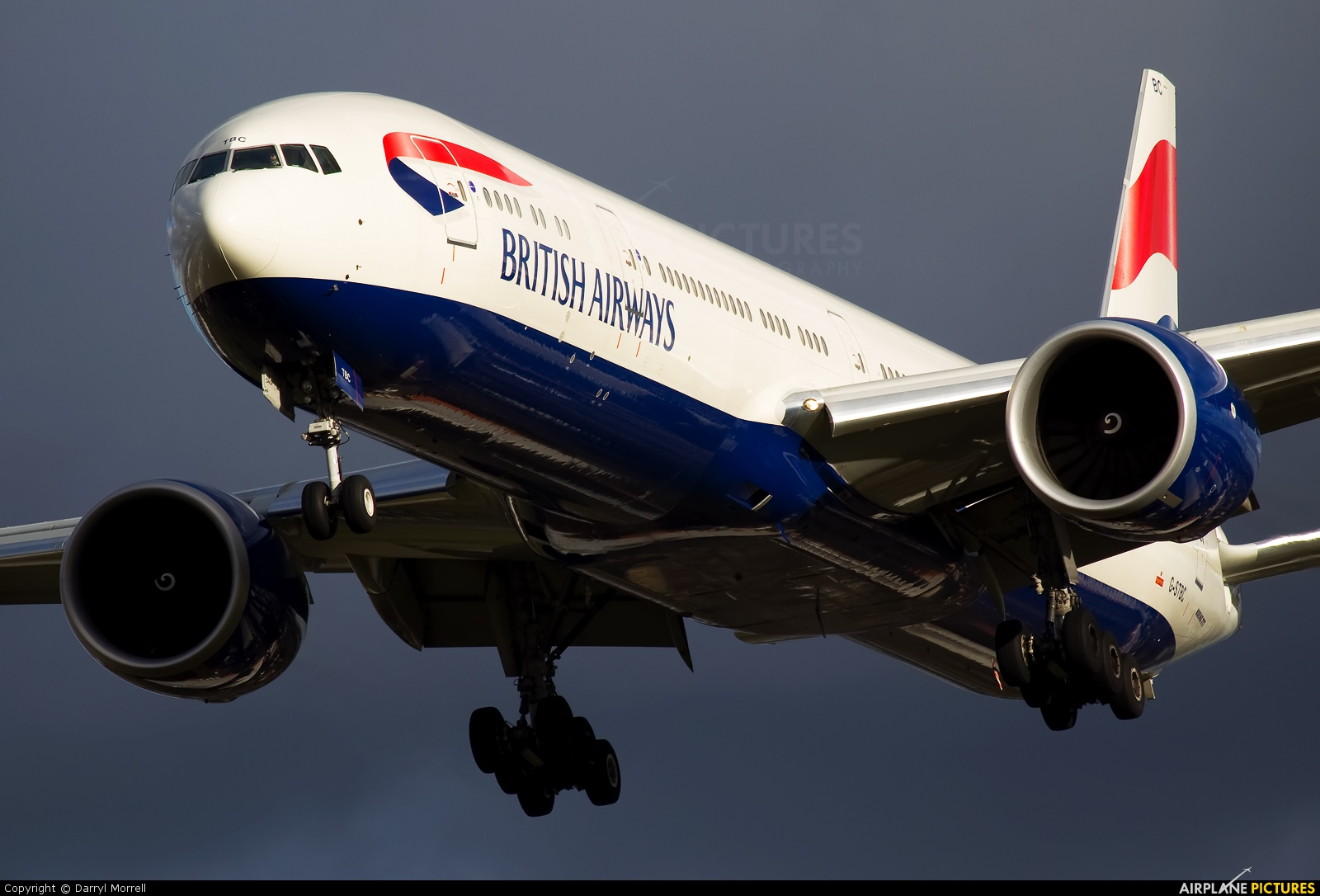 British Airways G-STBC aircraft at London - Heathrow