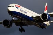 G-STBC - British Airways Boeing 777-300ER aircraft