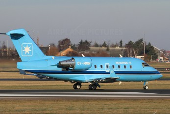OY-MMM - Maersk Canadair CL-600 Challenger 604