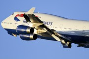 G-CIVH - British Airways Boeing 747-400 aircraft