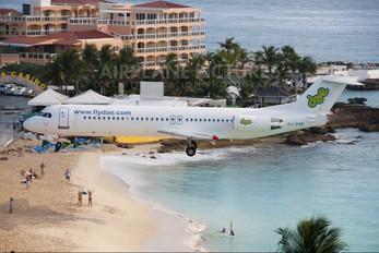 PJ-DAB - Dutch Antilles Express Fokker 100