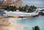 PJ-DAB - Dutch Antilles Express Fokker 100 aircraft