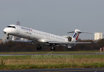 F-HMLG - Air France - Brit Air Canadair CL-600 CRJ-1000