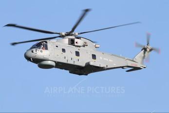 ZH826 - Royal Navy Agusta Westland AW101 111 Merlin HM.2