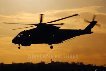 ZH829 - Royal Navy Agusta Westland AW101 111 Merlin HM.2